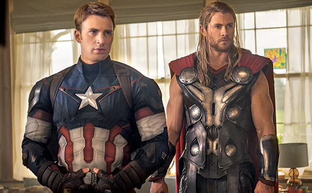 Avengers: Age of Ultron Captain America and Thor