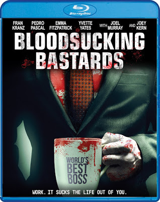 Bloodsucking Bastards Blu-ray Cover