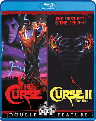 The Curse / Curse II: The Bite Blu-ray Cover