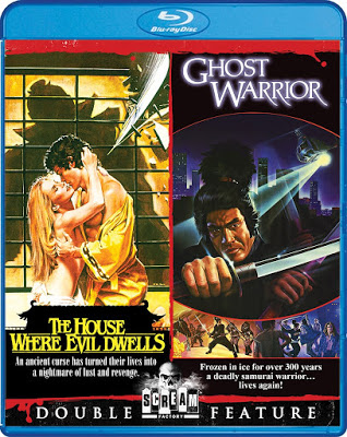 The House Where Evil Dwells / Ghost Warrior Blu-ray Cover
