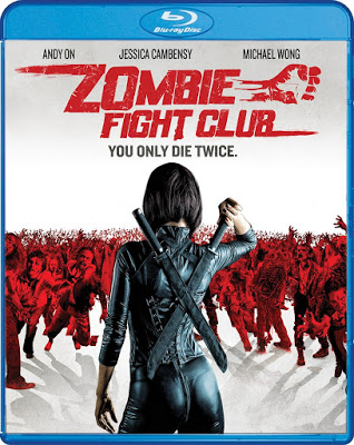 Zombie Fight Club Blu-ray Cover