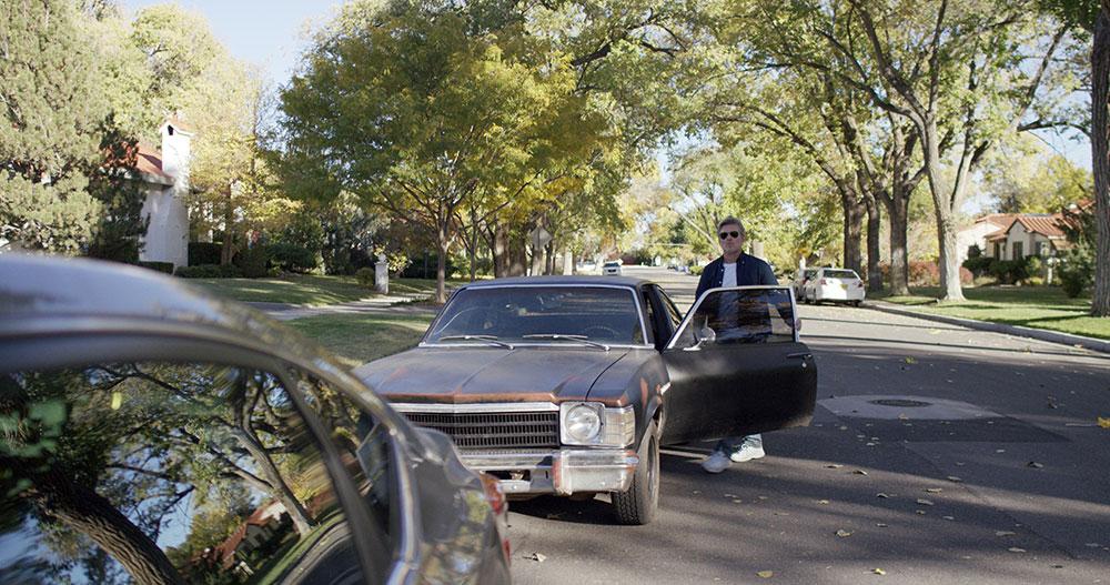 FENDER_BENDER_Bill_Sage_in_a_scene_from_original_movie_FENDER_BENDER