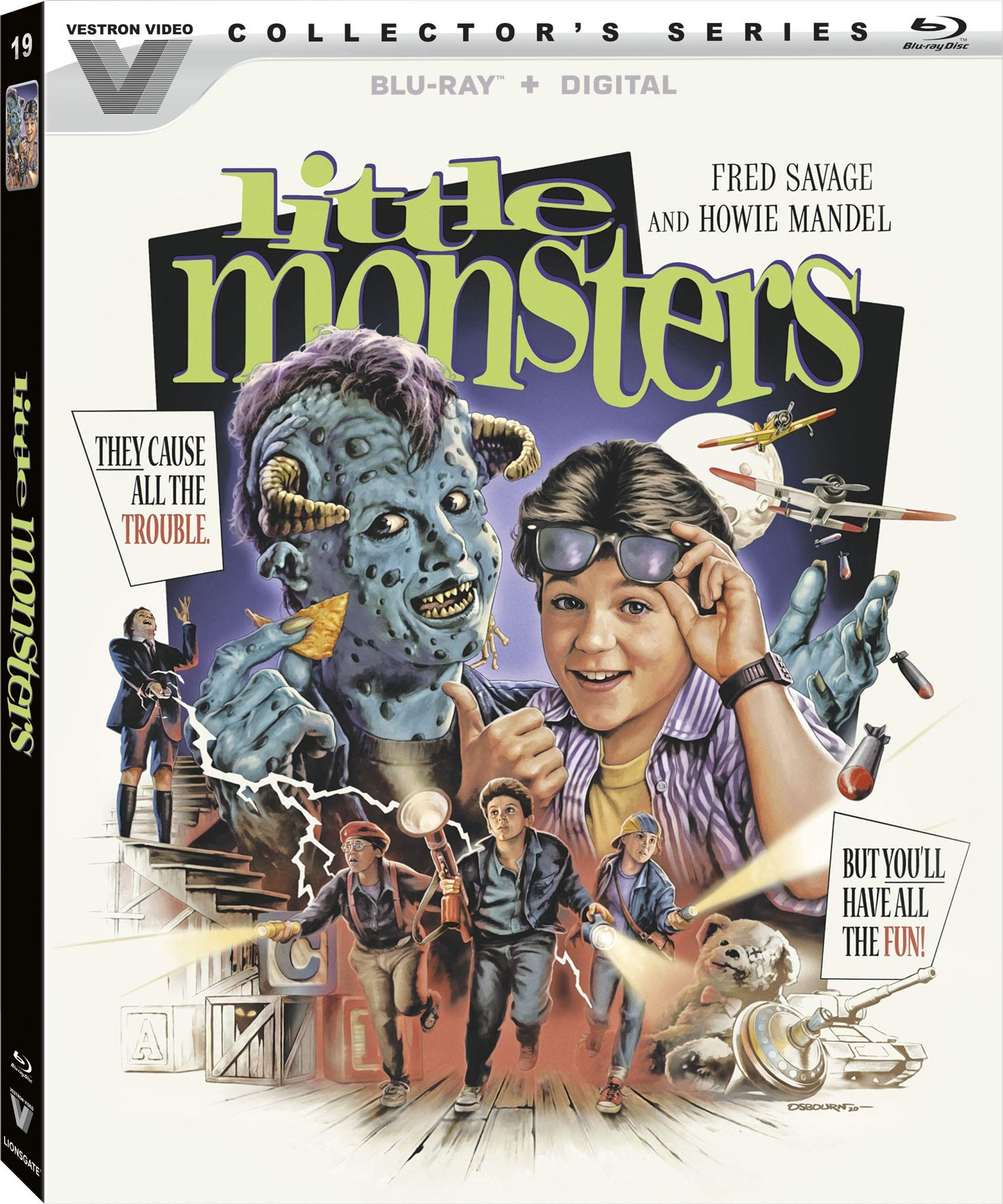 Little Monsters Blu-ray Review (Vestron Video)